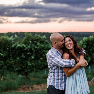 Gouveia Vineyards Engagement Session